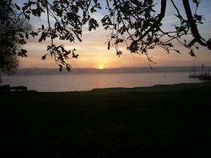 Sonnenaufgang im Herbst 2