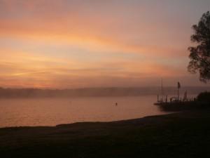 Sonnenaufgang im Herbst 1